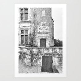 Chateau Chenonceau Art Print