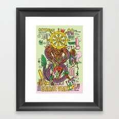 Magic 8 Framed Art Print