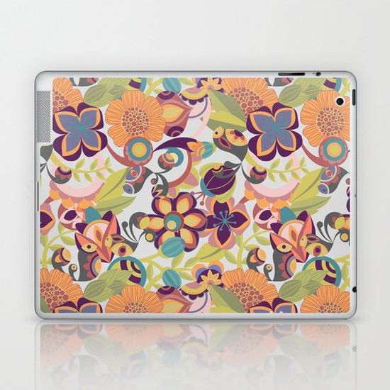 Birds in the fall Laptop & iPad Skin