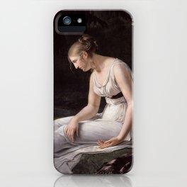 Melancholy, Constance-Marie Charpentier, 1801 iPhone Case
