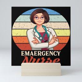 Nurse Profession Systemic Gift Mini Art Print