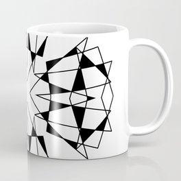ABSTRACT GEOMETRIC MANDALA Coffee Mug