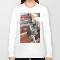 jeep Long Sleeve T-shirts featuring Jeep by Mario Sa
