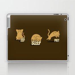 Eat Sleep Prey (Cats) Laptop & iPad Skin