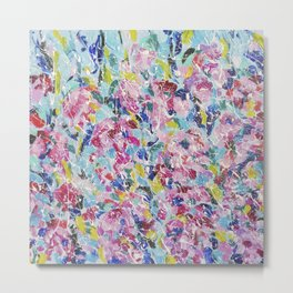 Abstract floral painting 2 Metal Print