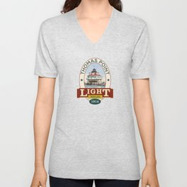 Thomas Point Light Unisex V-Neck