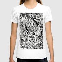 maori T-shirts featuring Maori tribal design by Noah's ART