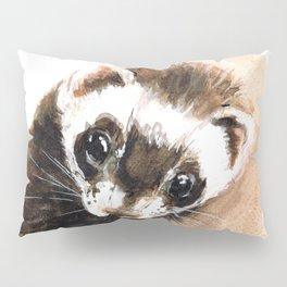Ferret portrait Pillow Sham
