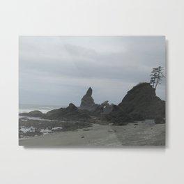 Haunted Beach Metal Print