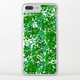 Simple as nature Clear iPhone Case