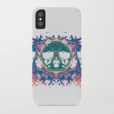 Inkdala VII - Rainbow Rorschach Art Slim Case iPhone X