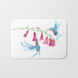 Hummingbird Spirit Guides Bath Mat