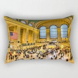 Grand Central Station New York Rectangular Pillow