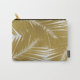 Palm Leaf Gold III Carry-All Pouch