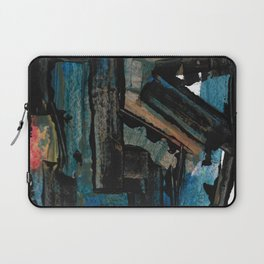 Bejewelled Modern Abstract Cubism Laptop Sleeve