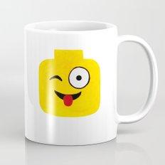Winking Smile - Emoji Minifigure Painting Mug