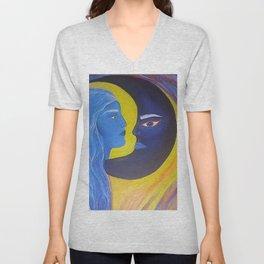 Blue Moon Unisex V-Neck
