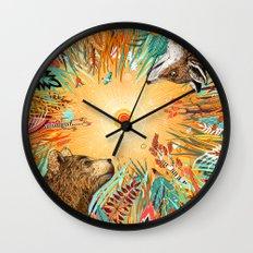 WHIRLWIND Wall Clock