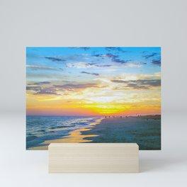 Sunset On Isle Of Palms Mini Art Print