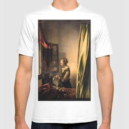 "Johannes Vermeer ""Girl Reading a Letter at an Open Window"" T-shirt"