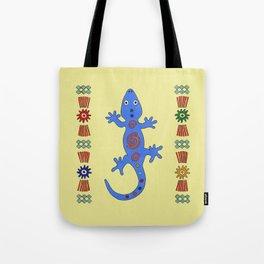 Lizard. Africa Tote Bag