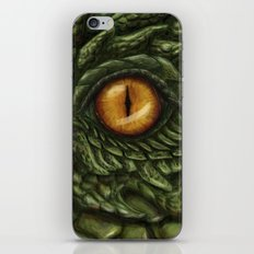 the green dragon iPhone & iPod Skin