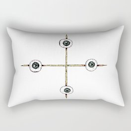 Sacrificed Eyes Rectangular Pillow