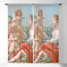 "François Boucher ""Allegory of Music"" 1764 Blackout Curtain"