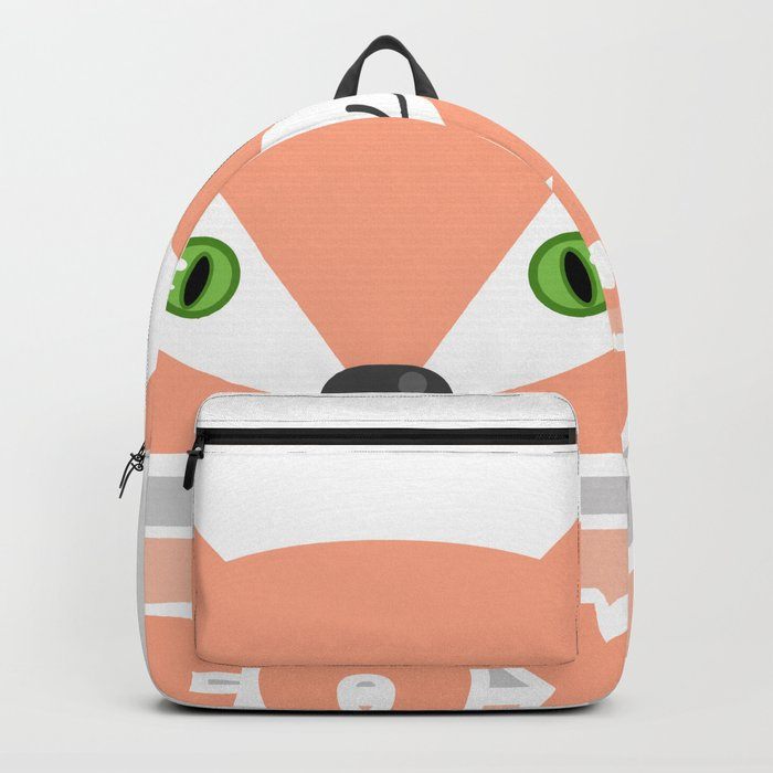 Little curious Fox . Backpack