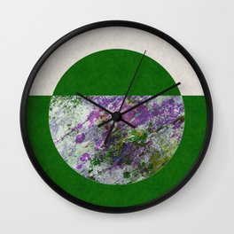 Inverted World Wall Clock