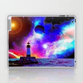 Lighthouse to the stars Laptop & iPad Skin