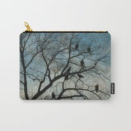 American Bald Eagles Roost Silhouette  Carry-All Pouch