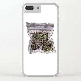 Pack of weed Clear iPhone Case