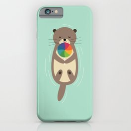 Sweet Otter iPhone Case