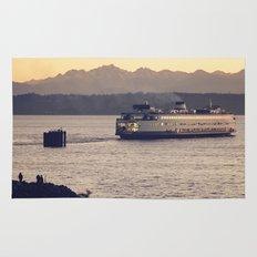 Puget Sound Ferry Rug