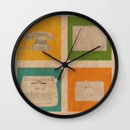 Vintage Tech Wall Clock