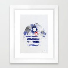 Astromech Deetoo Framed Art Print