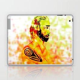 Man tattoo Laptop & iPad Skin