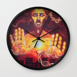 Karmic Burn Wall Clock