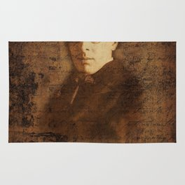 W. B. Yeats Rug