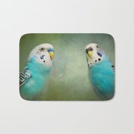 The Budgie Collection - Budgie Pair Bath Mat