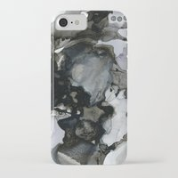 mid century modern iPhone & iPod Cases featuring Mid Century Modern Cephalopod by anoctopusaday