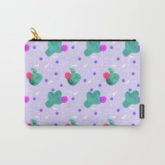 Hello Cactus Lavender Background by silverpegasus
