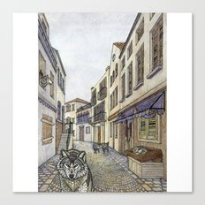 This City Has Gone To The Wolves Canvas Print