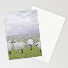 sheep and chicory Stationery Cards