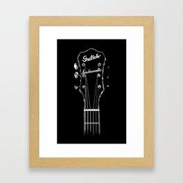 Gretsch Synchromatic-Acoustic Guitar-Music-Rock,Blues,Folk,Jazz,Rockabilly Framed Art Print