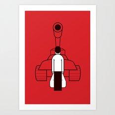 Tankman Art Print