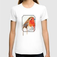 robin T-shirts featuring Robin by Paint the Moment