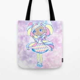 Cute Kawaii Marsha Mello Shopkins Shoppies Doll Art Tote Bag