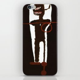 Basquiat Gri Gri iPhone Skin